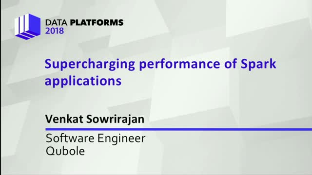 Supercharging the Performance of Spark Applications