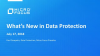 What's New in Data Protector v 10