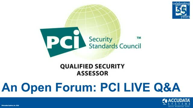 PCI Ask a QSA January 2018 Edition