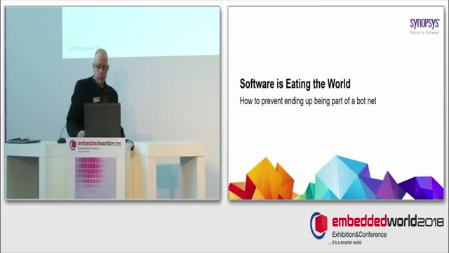 Software is eating the world. The Embedded World that is.