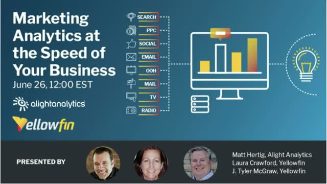 Part 1 of 3: Marketing Analytics at the Speed of Business