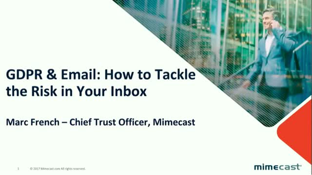 GDPR and Email: How To Tackle The Risk In Your Inbox
