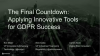 Applying Innovative Tools for GDPR Success