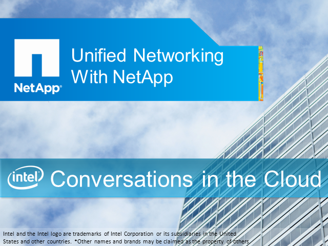 Unified Networking with NetApp