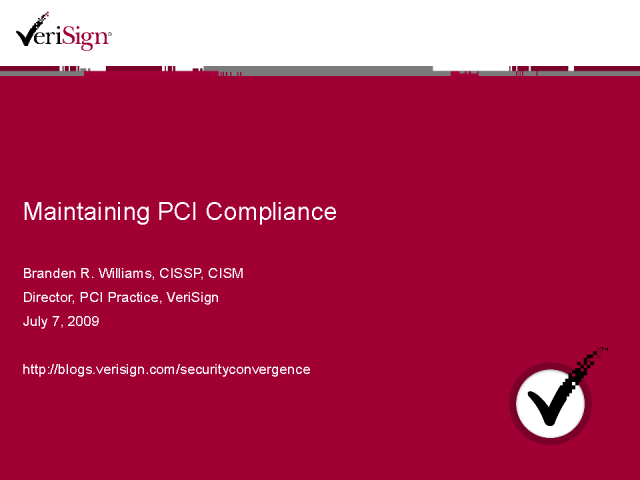 Maintaining PCI Compliance