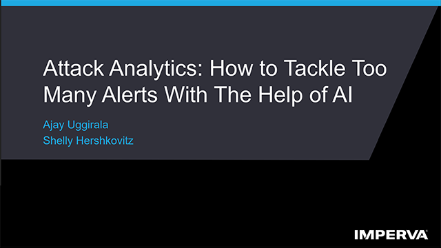 Attack Analytics: How to Tackle Too Many Alerts With The Help of AI