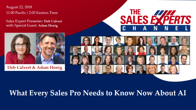What Every Sales Pro Needs to Know About AI