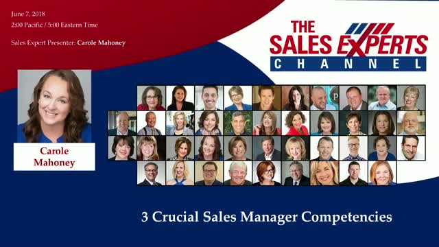 3 Crucial Sales Manager Competencies