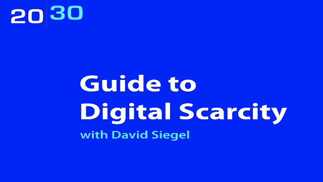 Guide to Digital Scarcity with David Siegel