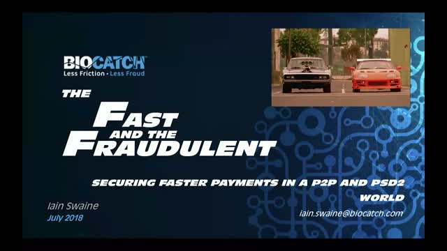 The Fast and the Fraudulent
