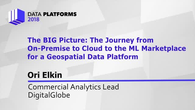 The BIG Picture: The Journey from On-Premise to Cloud to the ML Marketplace for
