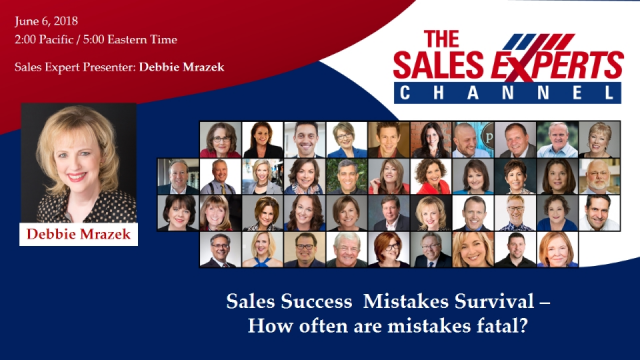Sales Success Mistakes Survival – How often are mistakes fatal?