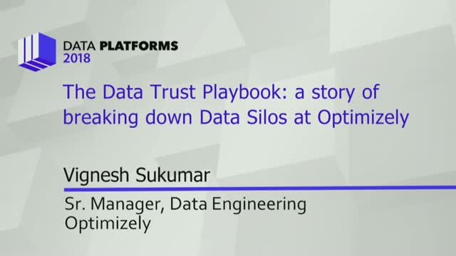 The Story of Building a Scalable Data Trust Playbook at Optimizely