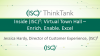 Inside (ISC)²: Virtual Town Hall – Enrich. Enable. Excel