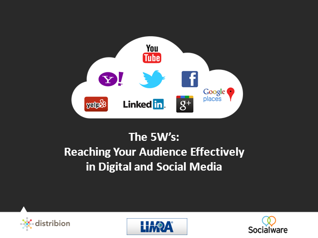 Reaching Your Audience Effectively: 5Ws- Digital & Social Media