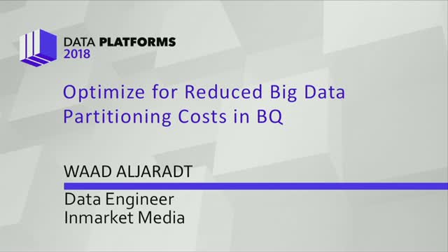 Optimize for Reduced Big Data Partitioning Costs