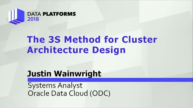 The 3S Method for Cluster Architecture Design