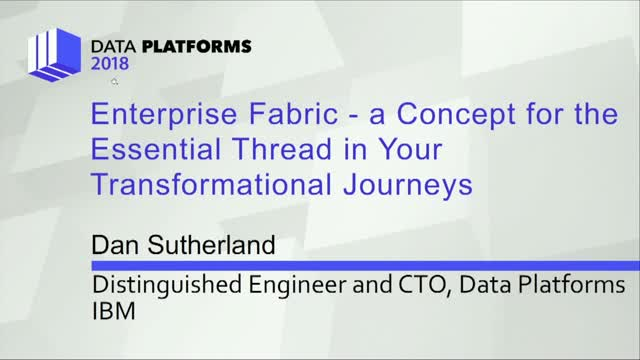 Enterprise Fabric – A Concept/Essential Thread in Your Transformational Journeys