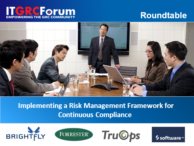 Implementing a Risk Management Framework for Continuous Compliance
