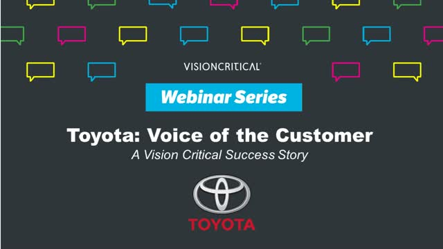 Toyota: The Voice of the Customer