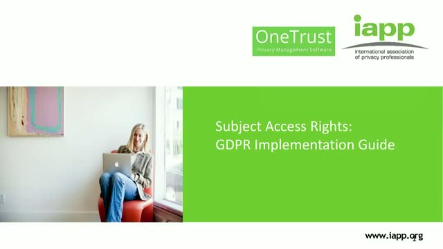 Subject Access Rights: GDPR Implementation Guide
