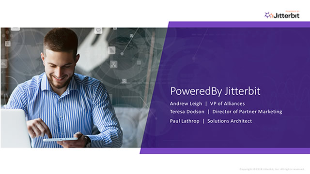 Introducing the Powered by Jitterbit Partner Program