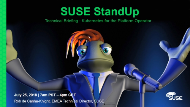 Technical Briefing - Kubernetes for the Platform Operator