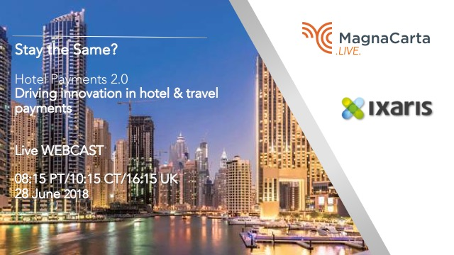 Stay the same? Hotel Payments 2.0 - Driving innovation in travel & hotel payment