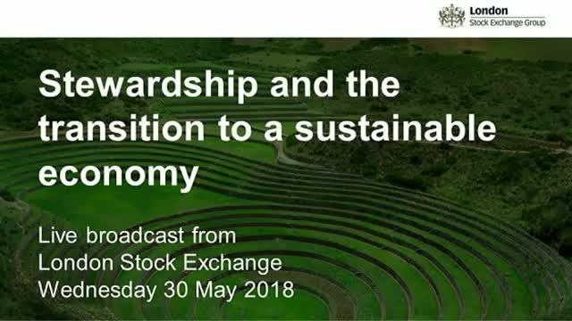 Live Broadcast:Exploring stewardship and the transition to a sustainable economy
