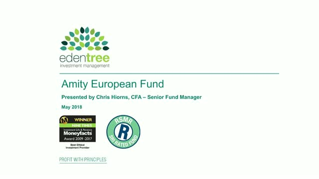 EdenTree Amity European Fund Update