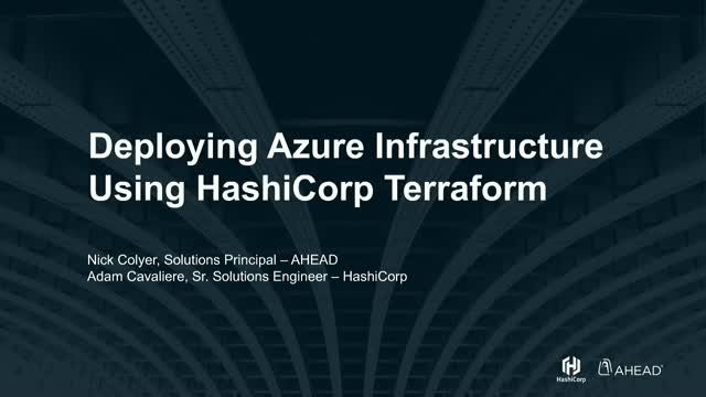 Deploying Azure Infrastructure Using HashiCorp Terraform
