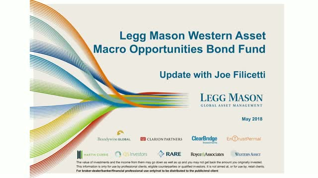 Western Asset - Update with Joe Filicetti