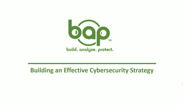 Controls, Baselines and Regulations, Oh My! Building Your Security Strategy