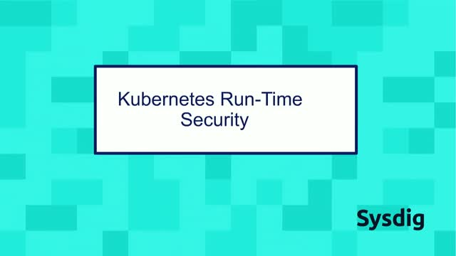 Kubernetes Run-Time Security, an Example of Blocking an Application Attack