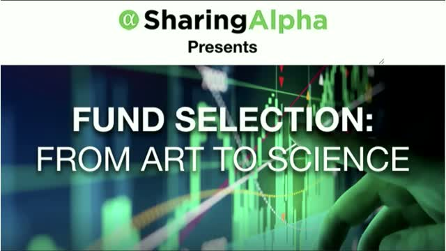 Fund Selection: From Art to Science pt. 2