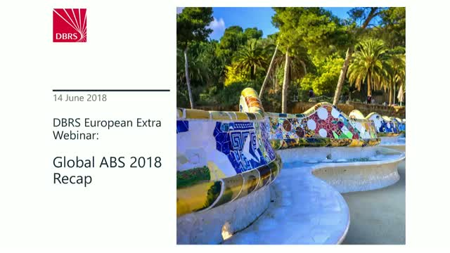 DBRS Hosts Webinar on the Global ABS 2018 Recap