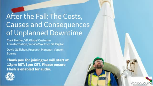 The Causes, Costs and Consequences of Unplanned Downtime