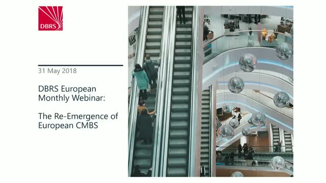 DBRS Hosts Webinar on the The Re-emergence of European CMBS