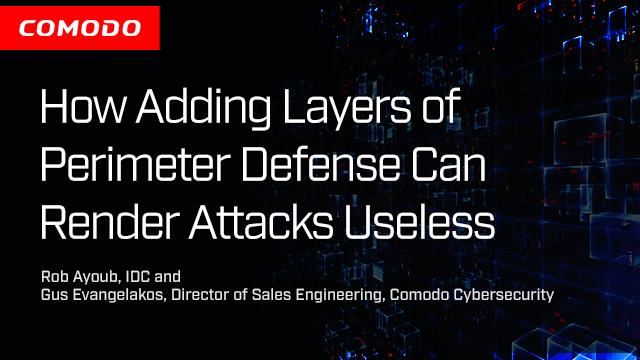 How Adding Layers of Perimeter Defense Can Render Attacks Useless