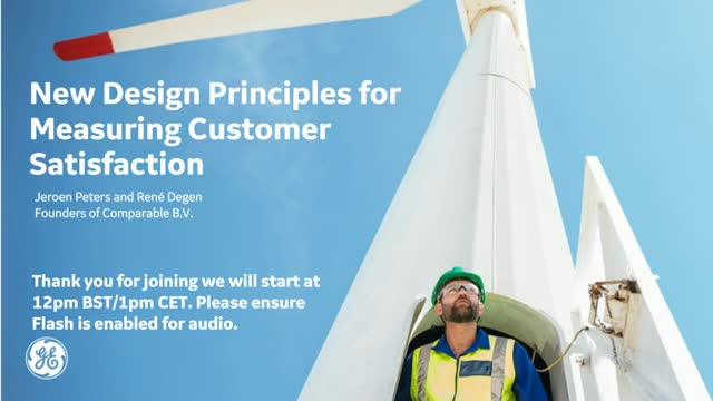 New Design Principles for Measuring Customer Satisfaction