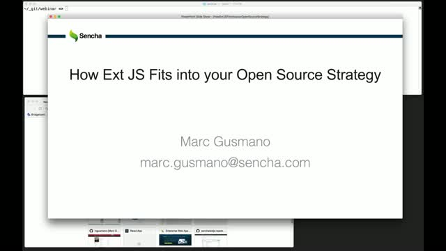 SNC - How Ext JS fits into your Open Source Strategy
