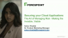 Securing Your Cloud Applications