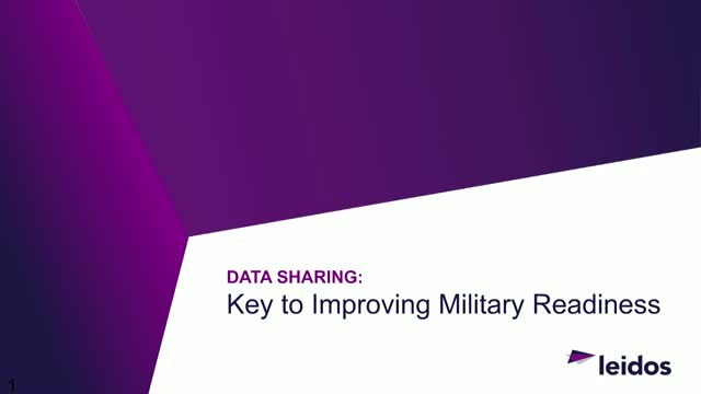 Data Sharing and Military Readiness: The key to improving your military defenses
