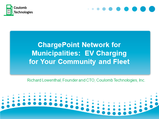 EV Charging Stations: New Revenue Stream for Municipalities?