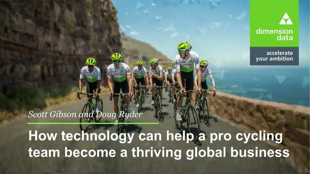 How technology can help a pro cycling team be a thriving global business.