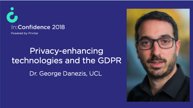 Privacy-enhancing technologies and the GDPR