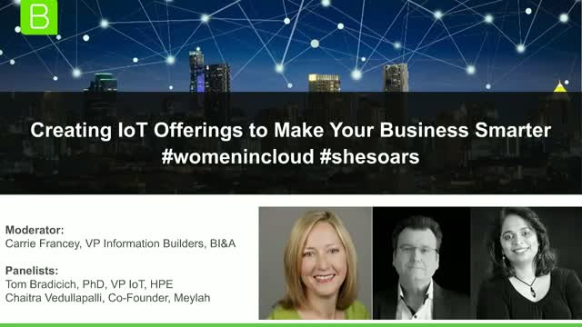 Creating IoT Offerings to Make your Business Smarter