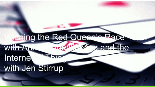Winning the Red Queen's Race with IoT and Artificial Intelligence