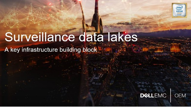 Surveillance data lake: a critical infrastructure building block