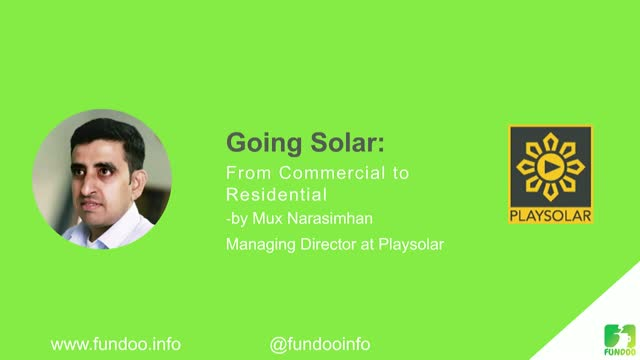 Going Solar - From Commercial to Residential